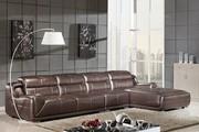Caesar Palace Modern Style Leather Corner Sofa