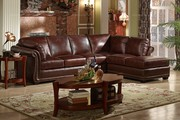 Caesar Palace American Style Leather Corner Sofa