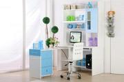 Modern Style Double Color kids' Study Desk