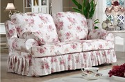 Country style living room 3-seater sofa