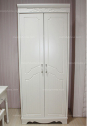 anfeier Country style resin carved wardrobe with two doors