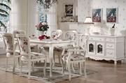European style dining set