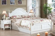 1.8m country style high-box bed