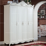 Hanfeier European style white wardrobe with three doors